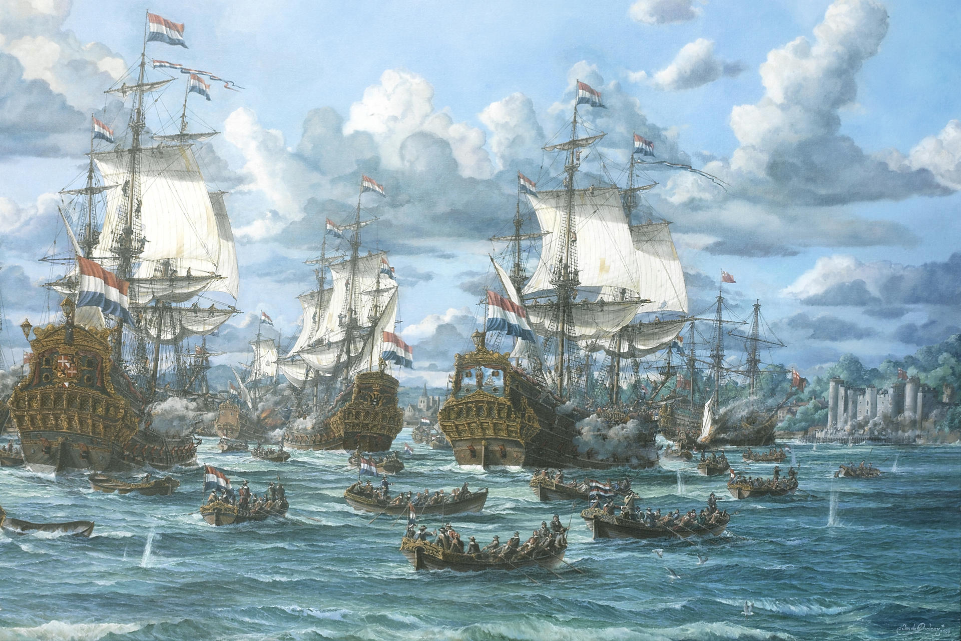 Battle of Medway / Tocht naar Chatham 2017